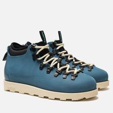 Ботинки Native Fitzsimmons Trench Blue/Bone White фото- 0
