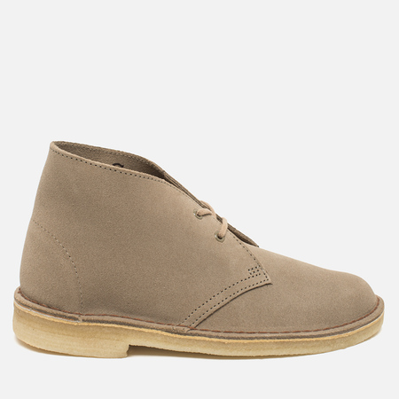 Clarks Originals Desert Boot Women's Shoes Sand Suede