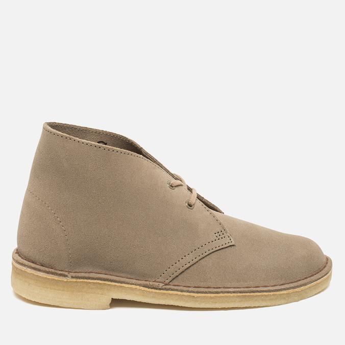 Женские ботинки Clarks Originals Desert Boot Suede Sand