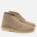 Женские ботинки Clarks Originals Desert Boot Suede Sand фото- 1