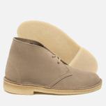 Женские ботинки Clarks Originals Desert Boot Suede Sand фото- 2