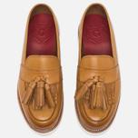 Женские ботинки лоферы Grenson Clara Loafer Sole Wedge Tan фото- 3