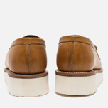 Женские ботинки лоферы Grenson Clara Loafer Sole Wedge Tan фото- 5