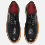 Женские ботинки броги Grenson Emily Brogue Sole Wedge Black фото- 3