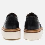 Женские ботинки броги Grenson Emily Brogue Sole Wedge Black фото- 4