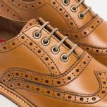 Женские ботинки броги Grenson Emily Brogue Sole Wedge Tan фото- 5