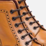 Женские ботинки Loake Anne Calf Brogue Tan фото- 4