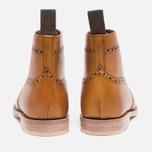 Женские ботинки Loake Anne Calf Brogue Tan фото- 3