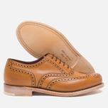 Loake Viv Calf Brogue Women's Shoes Tan photo- 2