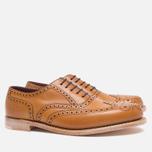 Loake Viv Calf Brogue Women's Shoes Tan photo- 1