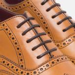 Loake Viv Calf Brogue Women's Shoes Tan photo- 4