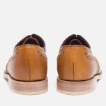 Женские ботинки Loake Viv Calf Brogue Tan фото- 3