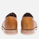 Loake Viv Calf Brogue Women's Shoes Tan photo- 3