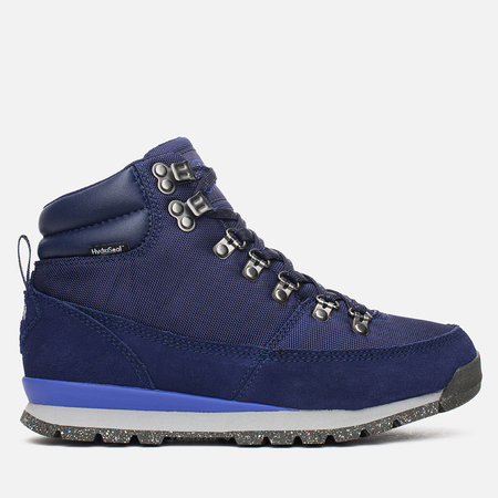 The North Face Back to Berkeley Redux Women's Winter Shoes Blue Iris
