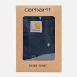 Мужские трусы Carhartt WIP Economy Print Short Duke Blue/White фото- 3