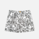 Мужские трусы Carhartt WIP Wild Rose Print Short White/Black фото- 0