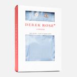 Мужские трусы Derek Rose Savoy Classic Fit Blue фото- 2