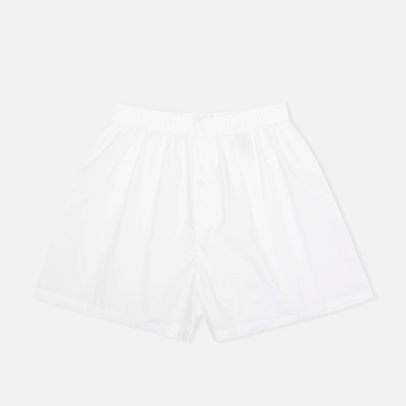 Norse Projects Cotton Poplin Men's Boxer Shorts White