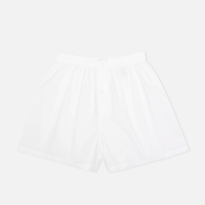 Мужские трусы Norse Projects Cotton Poplin White