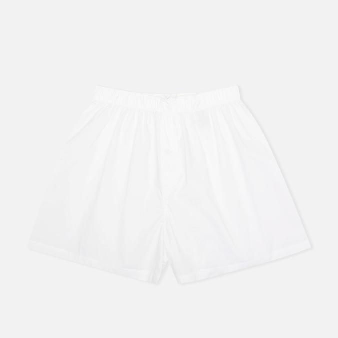 Norse Projects Cotton Poplin Men's Boxer Shorts White