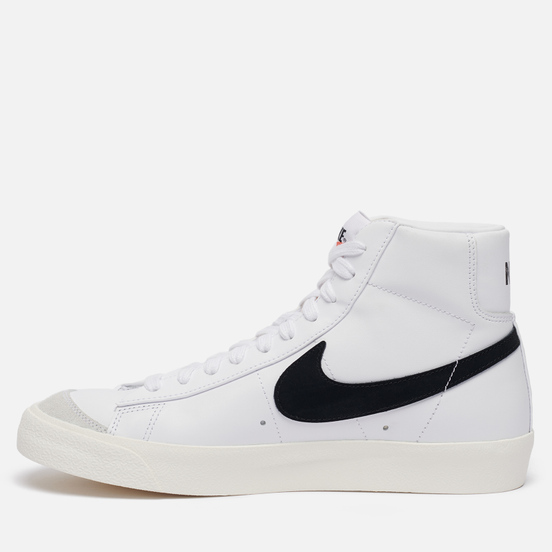 Мужские кроссовки Nike Blazer Mid 77 Vintage White/Black