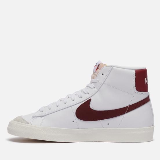 Мужские кроссовки Nike Blazer Mid 77 Vintage White/Team Red/White/Sail