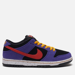 Мужские кроссовки Nike SB Dunk Low Pro Black/Sunburst/Varsity Purple/Taxi