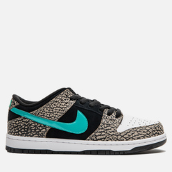 Мужские кроссовки Nike SB Dunk Low Pro atmos Elephant Medium Grey/Clear Jade/Black/White