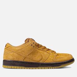 Мужские кроссовки Nike SB Dunk Low Pro Flax/Flax/Flax/Baroque Brown