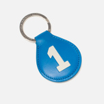 Брелок для ключей Hackett Numbered Blue/Brown фото- 0