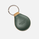 Hackett Numbered Key Ring Tan/Green photo- 1