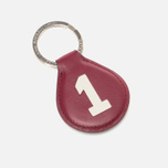 Hackett Numbered Key Ring Wine/Blue photo- 0