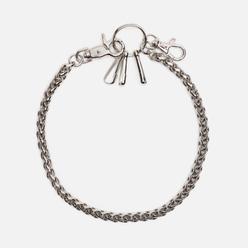 Брелок для ключей MKI Miyuki-Zoku Rope Jeans Chain Silver