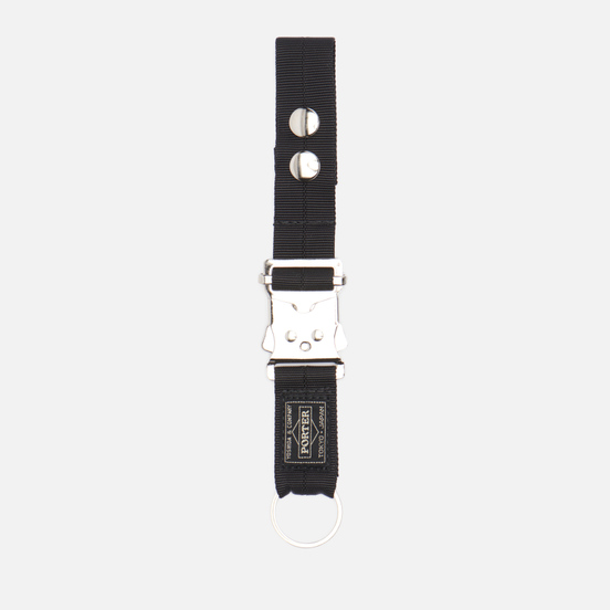 Брелок для ключей Porter-Yoshida & Co Joint Black/Silver