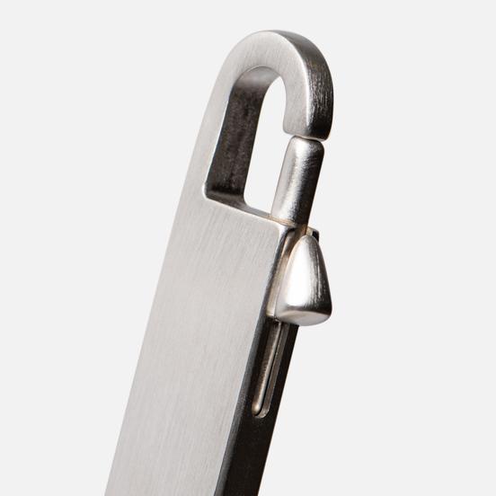 Брелок для ключей Rick Owens Large Barrette Palladio Silver