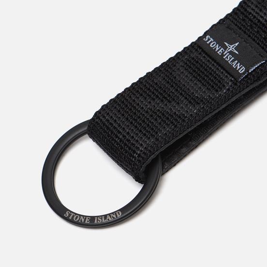 Брелок для ключей Stone Island Lanyard Nylon Tape Loop Black