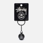 Брелок для ключей Stussy 8 Ball Black фото- 0