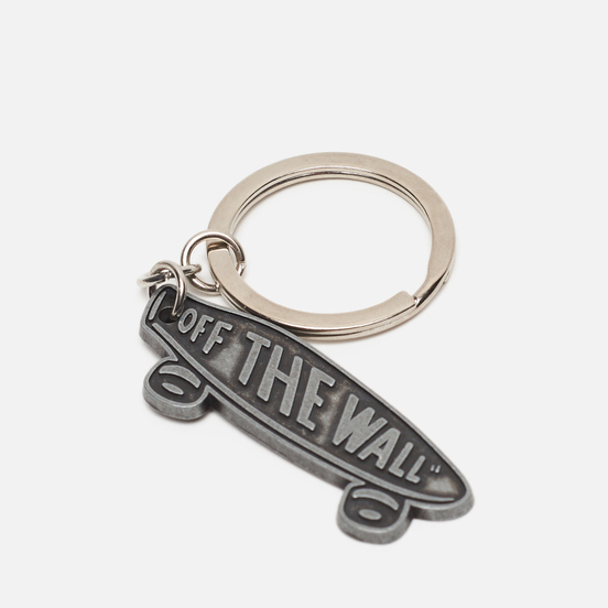Брелок для ключей Vans Metal Skateboard Antique Silver