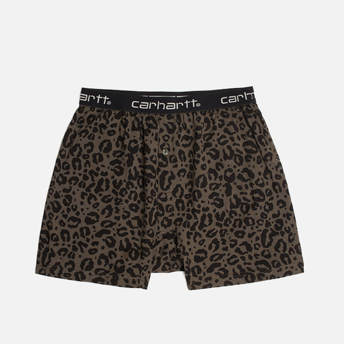 Мужские трусы Carhartt WIP Trunk Panther Print/Cypress