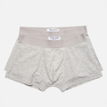 Комплект мужских трусов Democratique Underwear Superior Light Grey Melange фото- 0