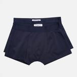 Democratique Underwear Superior Men's Boxer Briefs Navy photo- 0