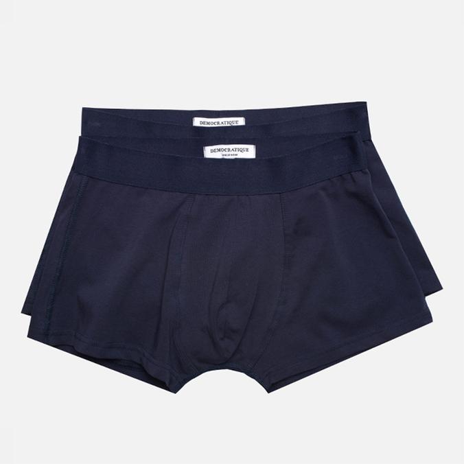Democratique Underwear Superior Men's Boxer Briefs Navy