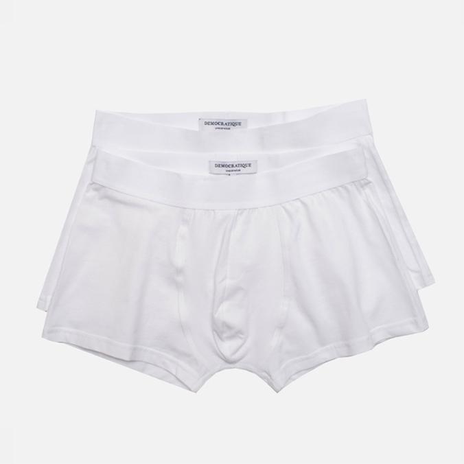 Комплект мужских трусов Democratique Underwear Superior White