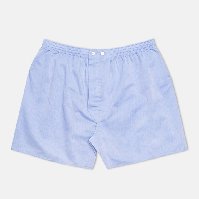 Мужские трусы Derek Rose Classic Fit Amalfi Boxers Blue