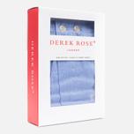 Мужские трусы Derek Rose Classic Fit Amalfi Boxers Blue фото- 2