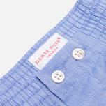 Мужские трусы Derek Rose Classic Fit Amalfi Boxers Blue фото- 1