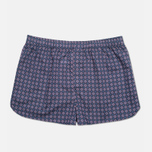 Derek Rose Slim Fit Nelson Men's Boxer Shorts Dutch Navy photo- 0