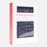 Derek Rose Slim Fit Nelson Men's Boxer Shorts Dutch Navy photo- 2