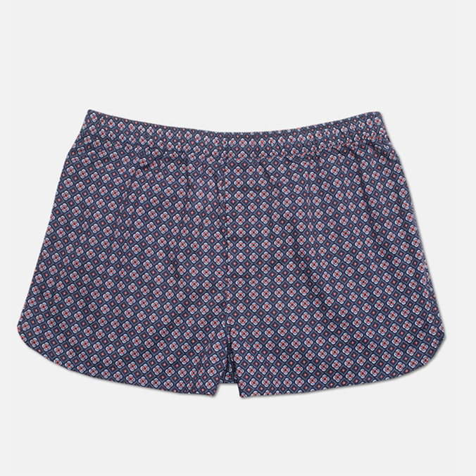Мужские трусы Derek Rose Slim Fit Nelson Boxers Paprika Navy