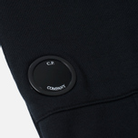 Мужские брюки C.P. Company Heavy Weight Cotton Fleece Pocket Lens Black фото- 1